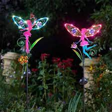 decorative solar stake light with