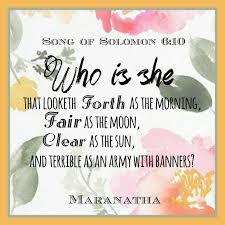 Song Of Solomon 64 13 Kjv Maranatha Song Of Solomon Bible