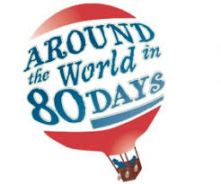 around the world in days clipart