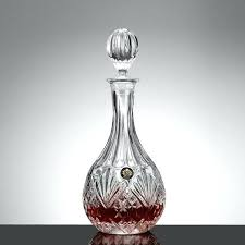 glass liquor decanters clear lead free glass round shape wine decanter whiskey liquor bottle jug alcohol