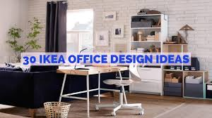 Ideas for office design Desk 30 Ikea Office Design Ideas Youtube 30 Ikea Office Design Ideas Youtube