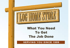 Log Homes Store supplies log home finishes sealers chinking