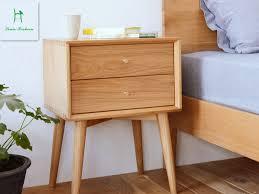Japanische Weiße Eiche Nachttisch Einfache Moderne Schlafzimmer