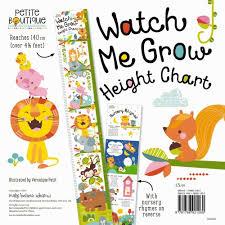 Watch Me Grow Chart Product Watch Me Grow Height Chart Book School Essentials