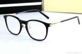 Designer Spectacle Frames 2019 New Designer Glasses Plank Spectacle Frame Eyeglasses Frames For Men Women Myopia Designer Vintage Glasses Frame With Original Case From