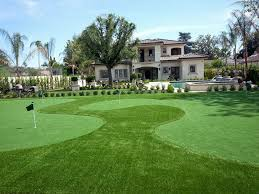 grass turf escondido california how to build a putting green front yard landscaping ideas