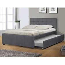 full bed with trundle. Contemporary Bed Summertown FullDouble Platform Bed With Full Trundle E