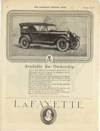 1920 9 11 lafayette available for ownership lafayette motors pany at mars hill indianapolis indiana the saay evening post september 11 1920 page 84