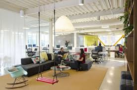 fashionable office design. interior fashionable feelslikehome design companyu0027s workspace cozy and fun lounge area in the working space with swing shared pinterest office