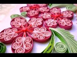 How To Make A Beautiful Flower With Paper Quilling Made Easy How To Make Beautiful Flower Design Using Paper