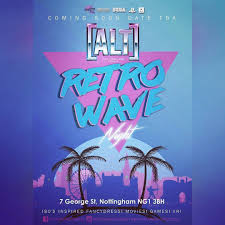 Alt Design Derby Coming Soon Retro Wave Night 2 Retrowave Newretrowave