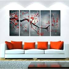 5 piece wall art set three sets designer clothes shoes bags for women 3 canvas cross in mirror