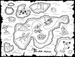 Small Picture Pirate Map Coloring Pages Printablemap Printable Coloring Pages