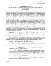 Credit Agreement | Themindsetmaven