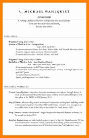 7 How To List Unfinished College On Resume How To List Education On