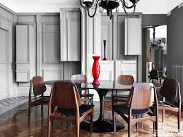 vintage italian barcelona style dining. Alessandro Dell\u0027Acqua Milan Home Dining Room 1960s Italian Chairs Saarinen Table Murano Chandelier Vintage Barcelona Style