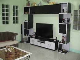 Home Design  Living Room Wall Mount Lcd Tv Cabinet Decoration - Tv cabinet for living room