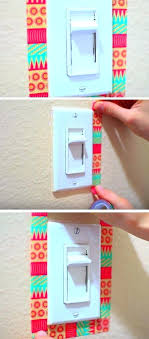 summer room decor diy bedroom ideas for girls light switches tape summer room decor