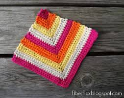Easy Crochet Dishcloth Patterns Beauteous 48 Free Crochet Dishcloth Patterns AllFreeCrochet