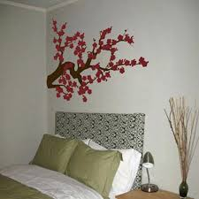 cherry blossom wall decal extra large cherry blossom branch vinyl wall decals two color your choice cherry blossom wall decal