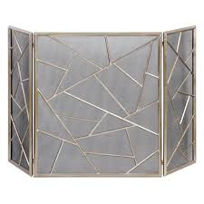 modern fireplace screens modern fireplace screens tempered glass fireplace screen