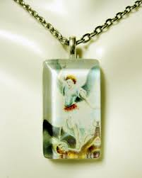 archangel michael pendant with chain gp09 069