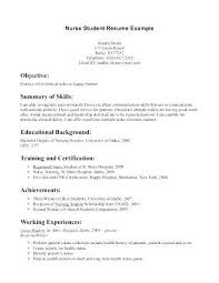 How To Write A Resume For A Highschool Student Awesome Resume Objectives For Students In High School Colbroco