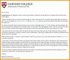 Cambridge University Acceptance Letter Cool Cover Letter Harvard
