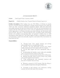 Best Ideas Of Resume Cv Cover Letter Child Care Worker Cover Letter