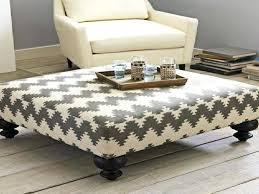 fabric ottoman coffee table alluring upholstered coffee table with top upholstered ottoman coffee table white upholstered