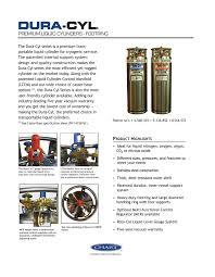 Chart Liquid Cylinders Dura Cyl Advanced Welding Supply Company Inc