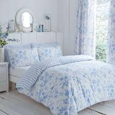 charlotte thomas amelie toile duvet cover set blue polycotton 144 thread count