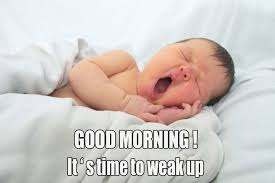 cute funny baby good morning images