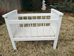 fancy baby doll crib and high chair