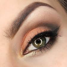 orange free look by justyna kolodziej using makeup geek s corrupt mango tango