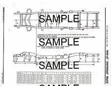 1967 1968 coronet charger 67 68 frame diagram 1967 1968 chevrolet trucks 1 2 3 4 1 ton frame dimensions chart diagram