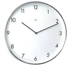 large modern wall clock modern wall clocks designer wall clock brushed aluminum modern wall modern clocks large modern wall clock big wall clocks