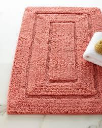 color bath rug