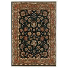 sovereign sultana navy rectangular 4 ft 3 in x 6 ft rug