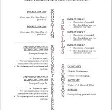 Resume Template Open Office Gorgeous Open Office Resume Template Office Resume Templates Free Open Office