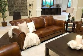 Top Grain Leather Living Room Set Elements Fine Home Furnishings Paladia Top Grain Leather Sofa