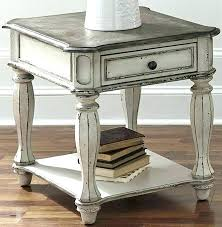 distressed white wood coffee table distressed wood coffee table rustic white end tables distressed white wood