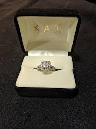 kay jewelers diamond bridal set 1 3 4