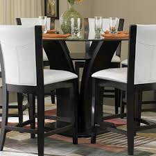 leather chair pad for dining room design ideas image stunning design for dining room decoration using 48 inch round dining table astonishing gl 48