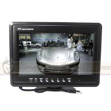 inch tft lcd color monitor ch video input