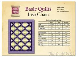 Basic Quilts - Irish Chain - The Quilt Patch & Terms of Use. Adamdwight.com