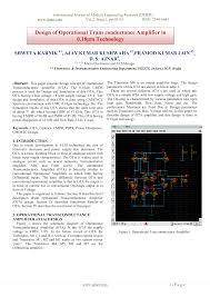 Ota Circuit Design