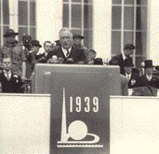 Image result for Franklin Roosevelt, the World's Fair in New York City