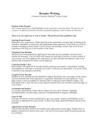 What Should Not Be Included In A Resume Resume Writing Michelin Career Center