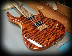 Kiesel Guitars Carvin Guitars K6H (70th Anniversary K Series ... & Kiesel Guitars Carvin Guitars Anniversary K Series) # piece body with deep  lava stain on quilted maple top on mahogany body sides and 7 piece neck ... Adamdwight.com